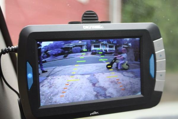 wireless backup camera monitor