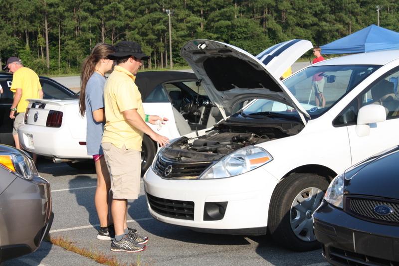 Street Survival teen driver education Tire Rack under hood