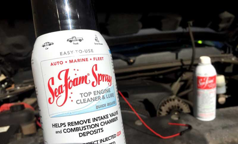 Sea Foam Spray Top Engine cleaner and lube