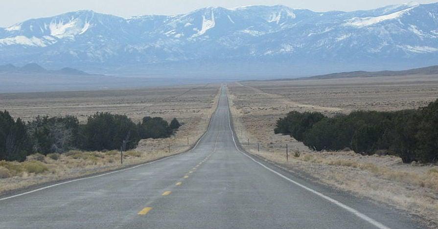 US Highway 50 Nevada