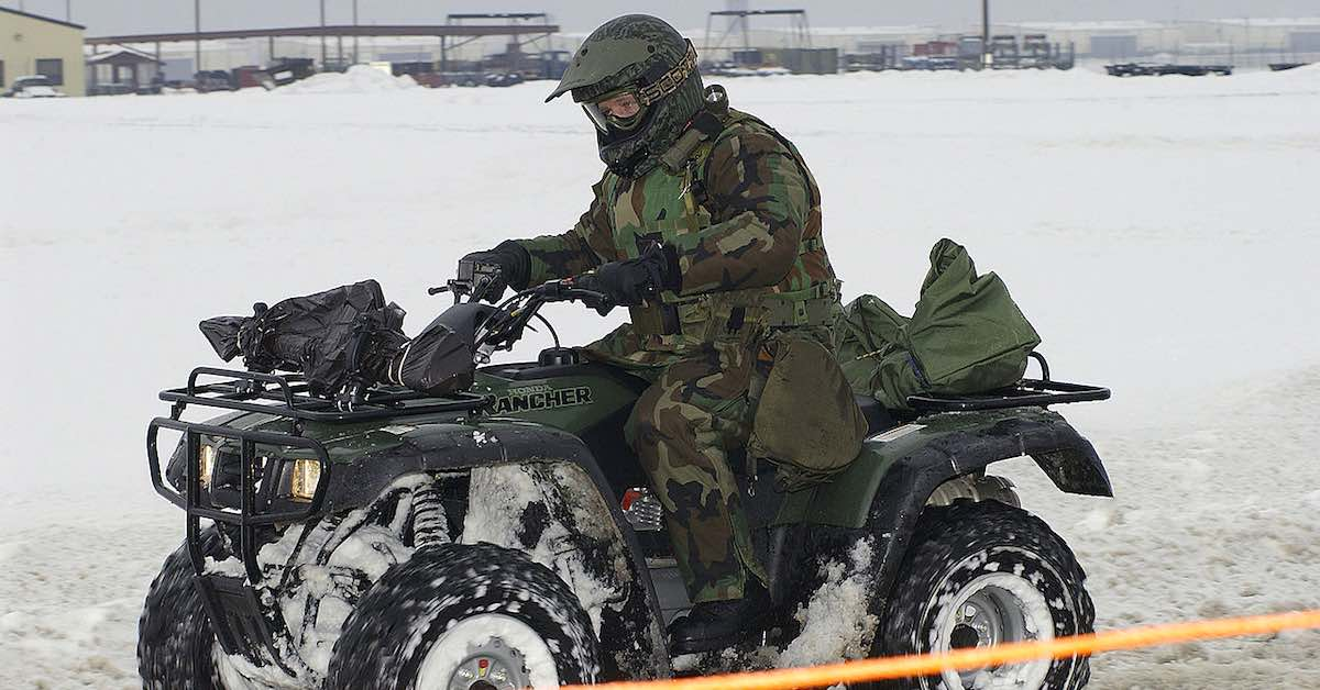ATV search and rescue