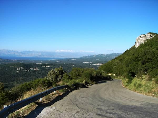 Be careful on winding mountain roads.