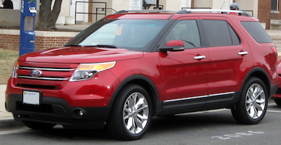 This SUV comes standard new car technology like side airbags and rearview cameras .