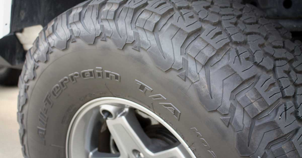 How to choose a work truck tire