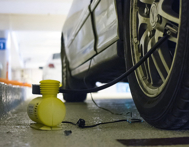 How to Improve Gas Mileage - Check and Adjust Tire Pressure Weekly