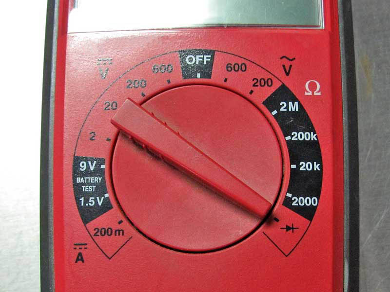 If there is a little drawing of a speaker next to this symbol for continuity, then the meter will beep when there is continuity. This is the 2nd most used function in automotive applications.