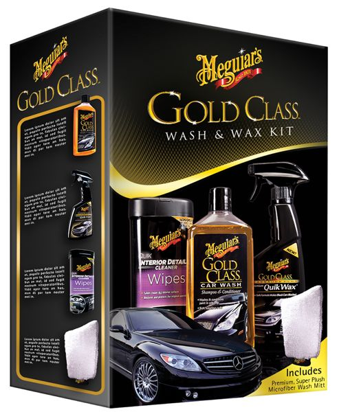 Mcguiar's Gold Class wash wax kit best holiday gifts