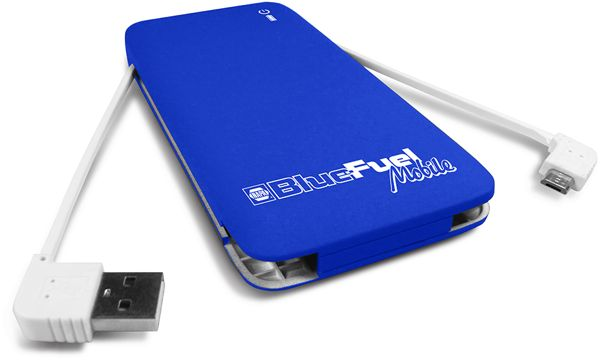 NAPA Blue Fuel power bank USB best holiday gifts