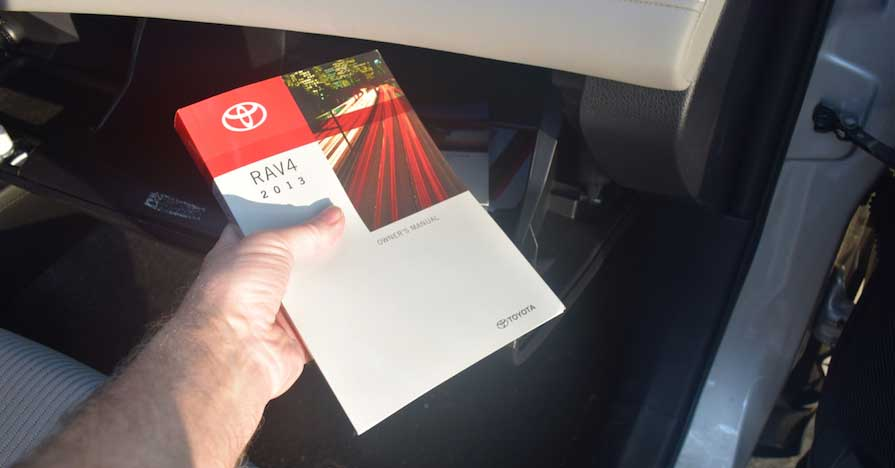 2013 Toyota RAV4 Owner's Manual