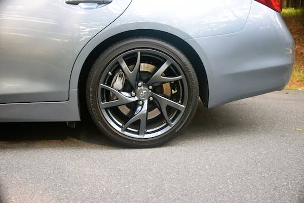 Run flat tires can help you get to a service station without requiring a spare. From my personal photo collection..