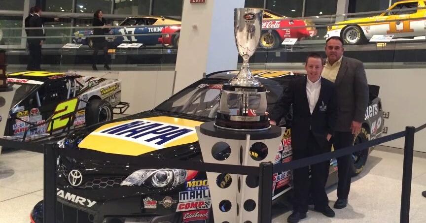 Chris Eggleston 2015 NASCAR KN Pro Series West Champion Bill McAnally