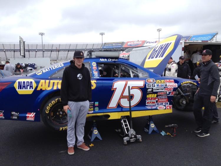 Nick Drake NASCAR KN Pro Series East 2015 Bill McAnally Racing NAPA AUTO PARTS 15 Dover