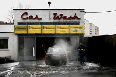 Washing your car in the winter