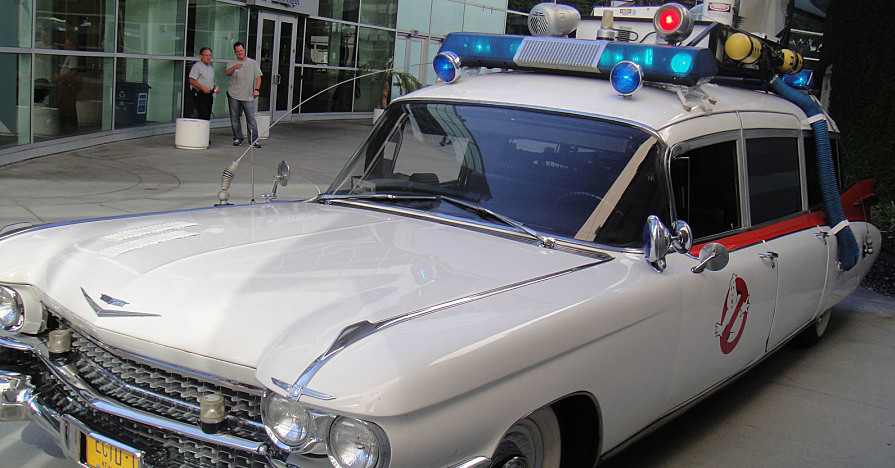 Ecto-1 with Movie Car Mods