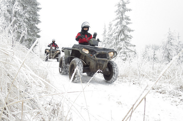 ATV Winter Riding Essentials