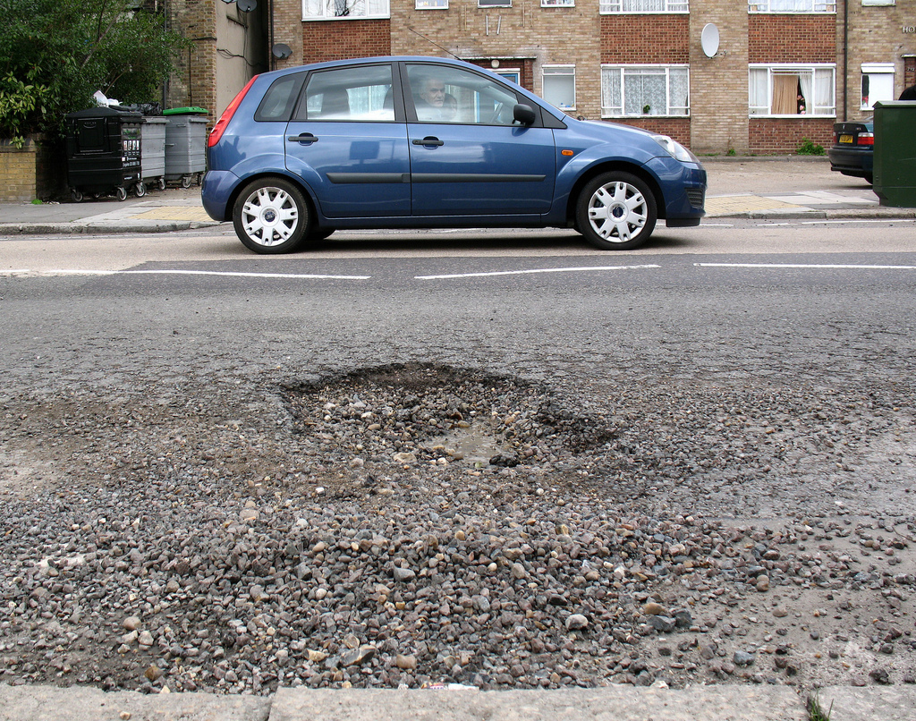 Is Pothole Damage Really More Common in the Winter?