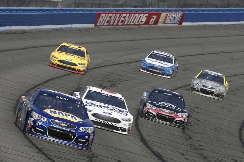 2016 NASCAR Fontana