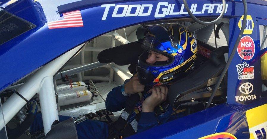 Todd Gilliland NAPA AUTO PARTS Toyota NASCAR KN West 2016