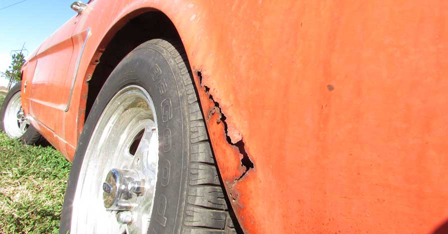 how to repair a rust hole