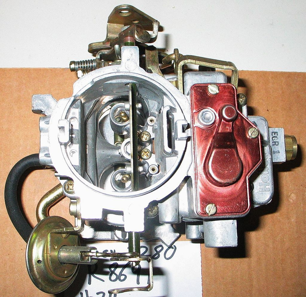 Two-Barrel Carburetor