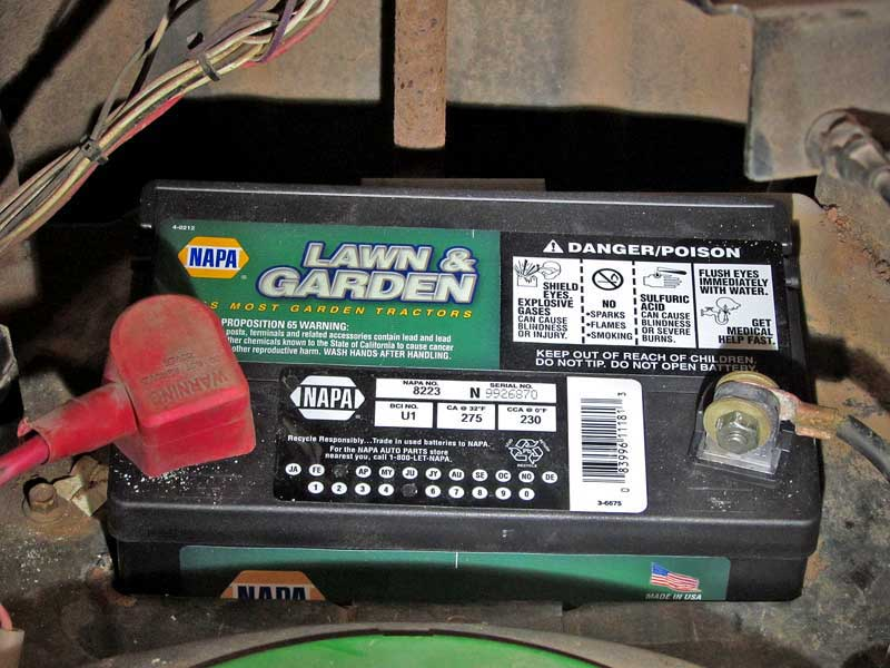 Keep Your Lawn And Garden Equipment In Top Condition With A New Napa Battery