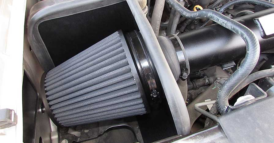 K&N Blackhawk Air Filter System