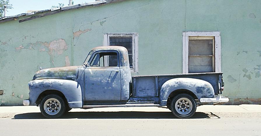 High mileage truck