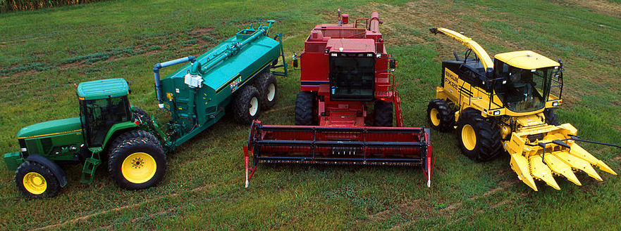 Hybrid farm equipment