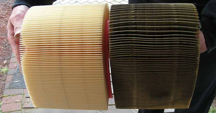How Dirty is a Dirty Air Filter? (Hint: This one's still good.)