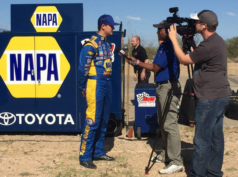 Todd Gilliland BMR NASCAR KN Pro Series West NAPA AUTO PARTS interview