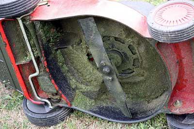 Lawn Mower Underside