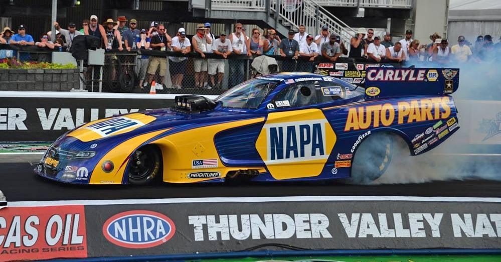 NHRA-Thunder-Valley-Nationals-Ron-Capps-NAPA-AUTO-PARTS-Funny-Car