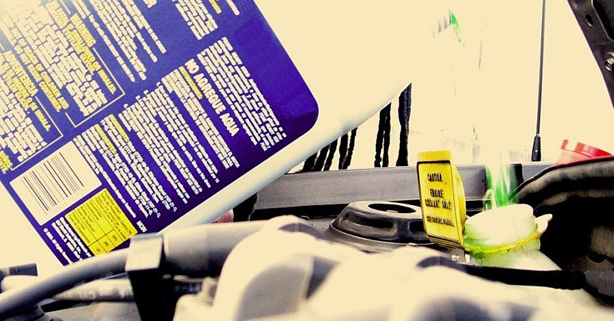 Check your car coolant