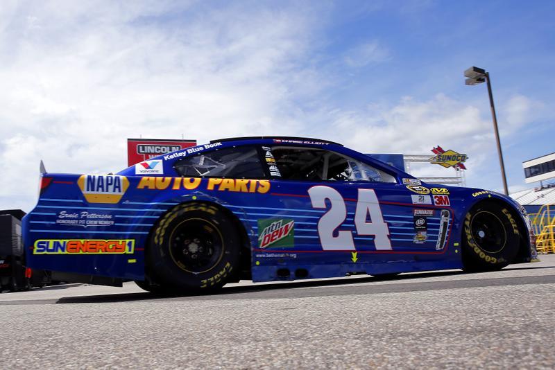 2016 NASCAR New Hampshire