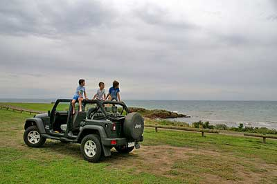 Open Top Jeep