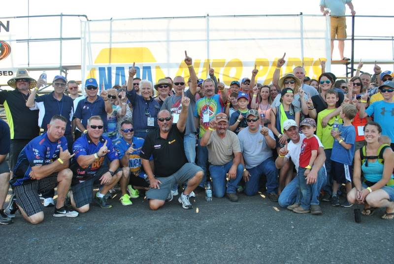 NAPA VIPs NASCAR KN Pro Series West Roseburg NAPA AUTO PARTS 150 2016