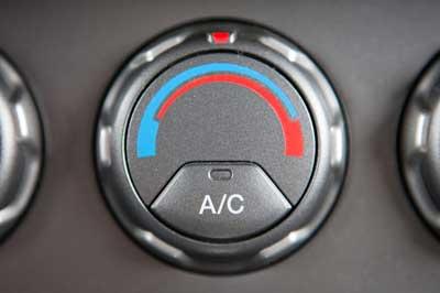 Car AC system control