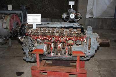Combustion Engine Cutaway