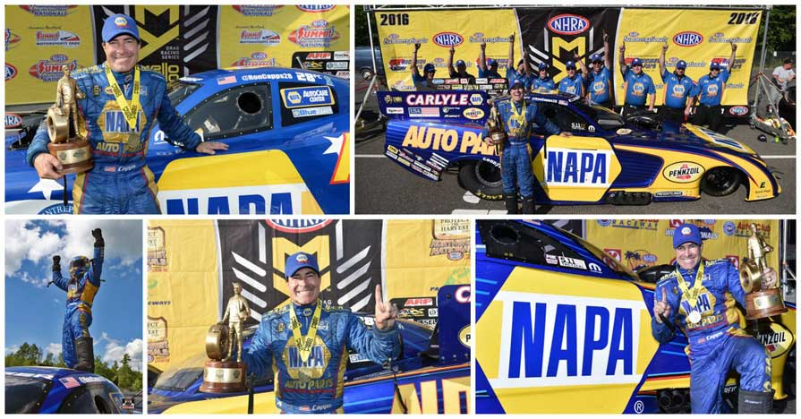 Ron Capps NHRA Countdown start 2016 5 Wallys
