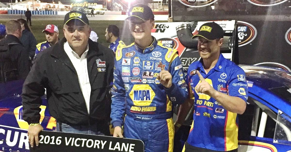 Todd-Gilliland-Idaho-Meridian-Speedway-2016-BMR-NAPA-AUTO-PARTS-Victory-Lane-Bill-McAnally