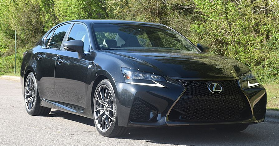 Lexus GS F without noisy brakes