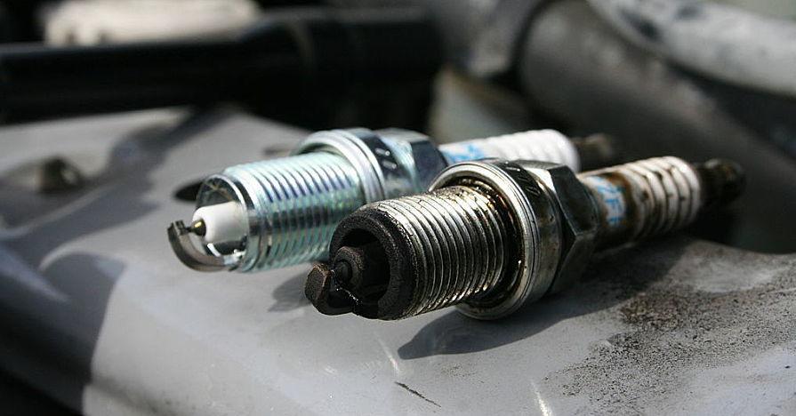 Old vs. New Spark Plug