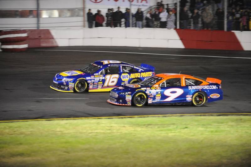Todd Gilliland K&N West Championship 2016 NASCAR Roseville VL 16 alongside 9