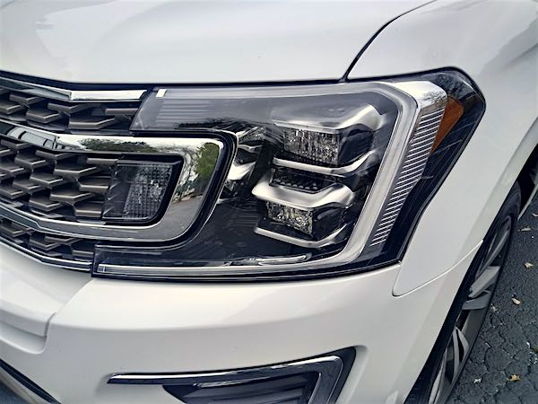 A SUV headlight