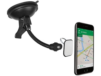Smartphone Gooseneck Mount BK CLMOMO107BK to comply with Hands Free Phone Laws