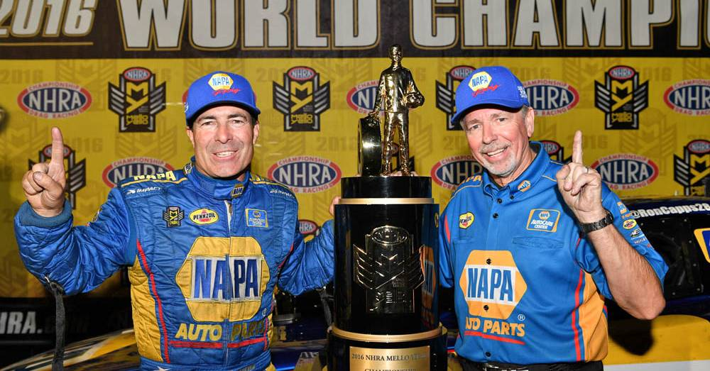 2016-NHRA-Funny-Car-Champion-Ron-Capps-NAPA-AUTO-PARTS-Crew-Chief-Rahn-Tobler
