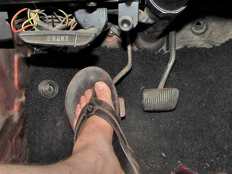 After the line was gravity bled, you can check the feel. If it is still spongy, repeat the process, but this time, have a helper pump and hold the clutch pedal before cracking the bleeder open, just like bleeding brakes.