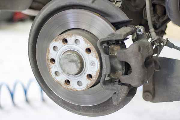 disc brake and pads