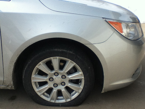 Never leave your teen stranded with a flat tire.