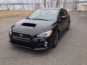 Performance models such as this Subaru WRX require premium gasoline.